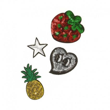 Thermocollant Fruit & Love (Pack de 4)