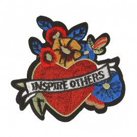 Inspire Others Iron-On Patch - Red