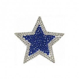 Thermocollant Étoile Glamstar - Bleu