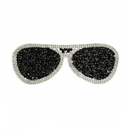 Thermocollant Lunettes Glamstar - Noir