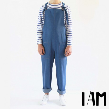 Overalls Sewing Pattern - I am Patterns I am Colibri