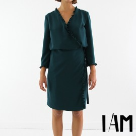 Dress sewing pattern - I am Patterns I am Perle