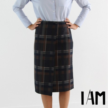 Skirt sewing pattern - I am Patterns I am Perrine