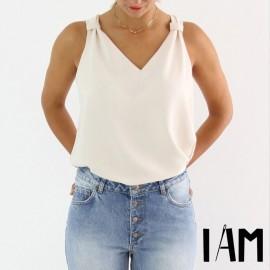 Patron Femme I AM Top  - I am Gaia