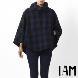 Patron Femme I AM Cape avec poches - I am Mimosa