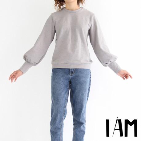 Patron I AM  Sweat- Shirt - I am Zebre