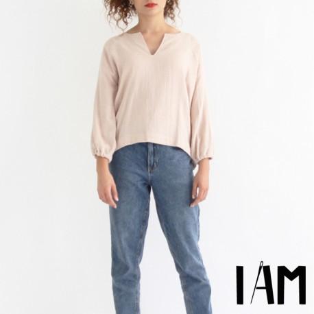 Sewing pattern I AM Short sleeve top - I am Jain