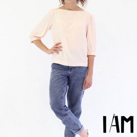 Sewing pattern I AM Sleeve top - I am Joy