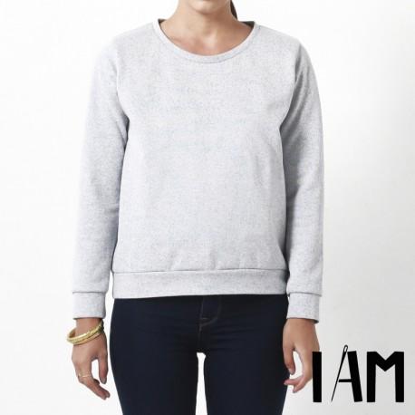 Sewing pattern I AM Sweat-Shirt - I am Apollon
