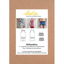 Underwear Ensemble Sewing Pattern - Ikatee Sebastien