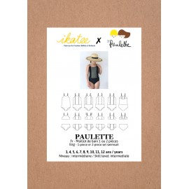 Swimsuit Sewing Pattern - Ikatee Paulette