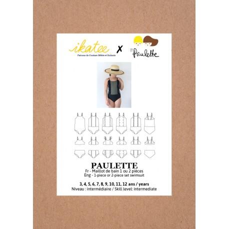 Patron Ikatee Paulette Maillot de Bain - 3 à 12 ans
