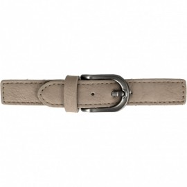 Faux Leather Kilt Strap with Buckle - Clay Enola