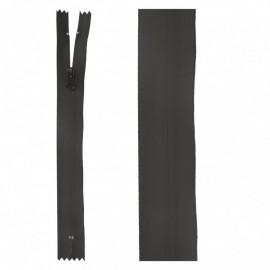 Waterproof Closed bottom zipper - black
