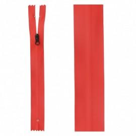 Fermeture Non Séparable Waterproof 20 cm - Rouge