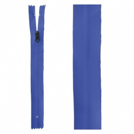 20 cm Invisible Closed Bottom Zipper - Blue Waterproof