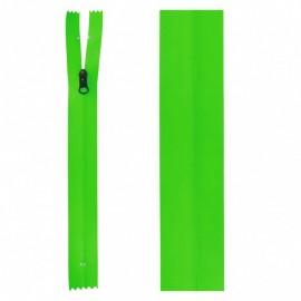Closure zipper 20 cm green not separable ZIPPER PRESTIL