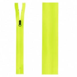 Fermeture Non Séparable Waterproof 20 cm - Jaune Fluo
