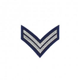 Thermocollant Chevron Caporal - Bleu Marine