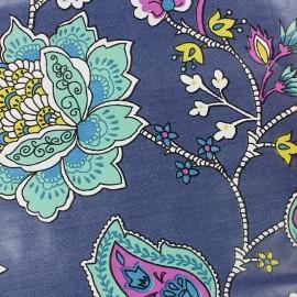 Oilcloth fabric - Navy Persepolis x 10cm