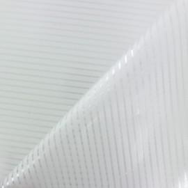 Frosted Privacy Window film - Stripes x 10cm