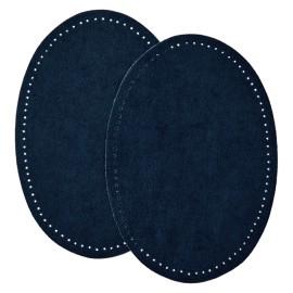 Coudière Genouillère Suédine (la Paire) - Bleu Marine