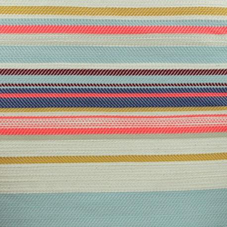 Canva Cotton fabric - Pink Jungle vibes x 40cm
