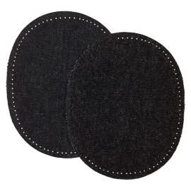 Coudière Genouillère Jeans (la Paire) - Noir