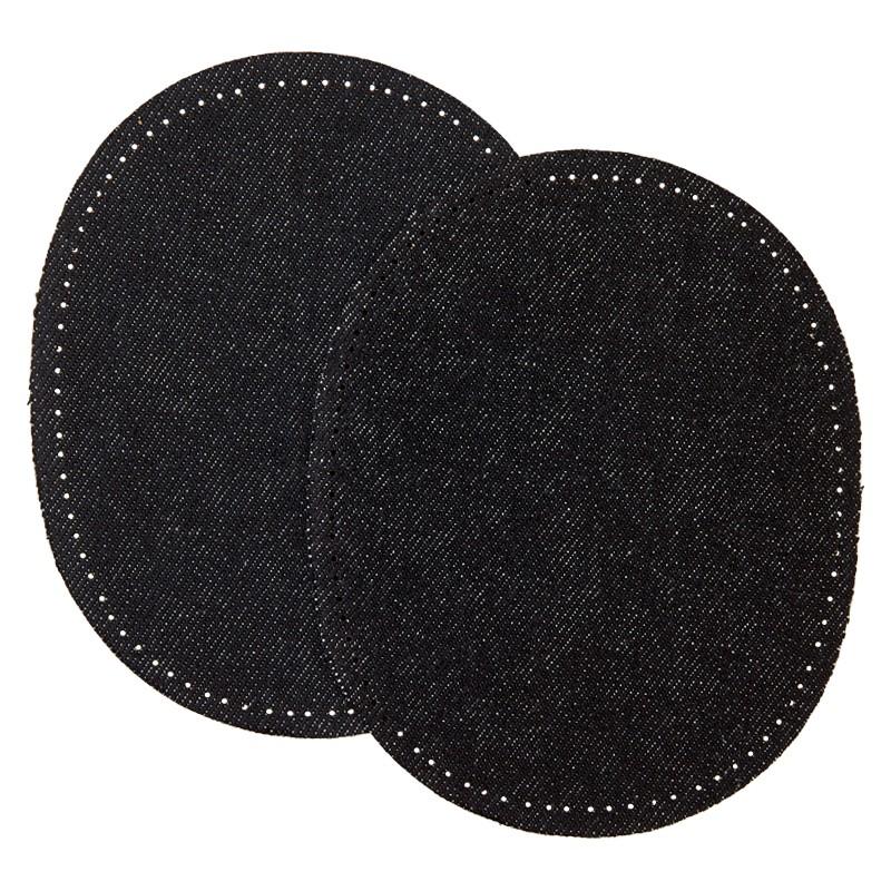 Jeans Et En Renfort Coude Genoux Pour Noir xoWQrEdCBe