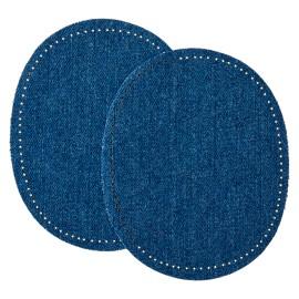 Coudière Genouillère Jeans (la Paire) - Bleu