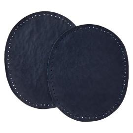 Coudière Genouillère Simili Cuir (la Paire) - Bleu