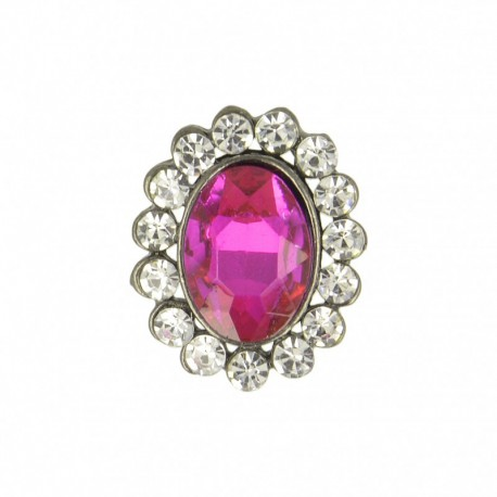 23 mm Jewel Metal Button - Tourmaline Precioso