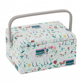 Large Size Sewing Box - Lama