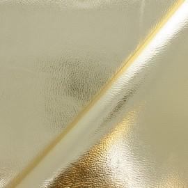 Simili cuir Metallic - doré x 10cm