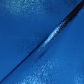 Simili cuir Metallic - rose clair x 10cm