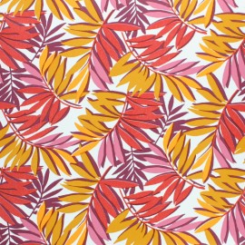 Oilcloth fabric - Red Sao Paulo x 10cm