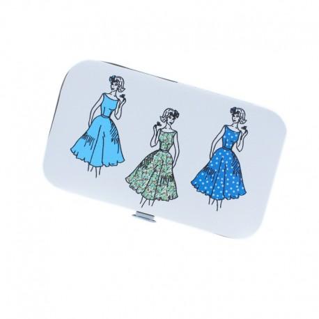 Sewing Kit - Blue Vinty Women
