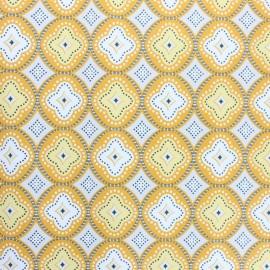 Tissu toile cirée Praia de Faro - jaune x 10cm