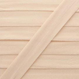 20 mm Lingerie Elastic Bias - Nude Ultra Flat x 1m