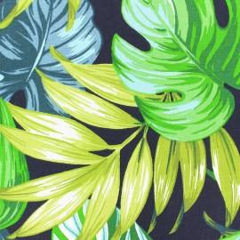 Cotton canvas fabric (280 cm) - black Costa Rica x 30cm