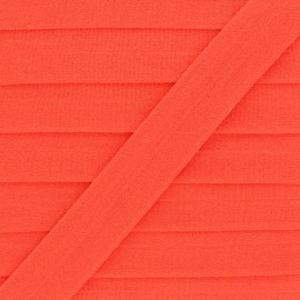 20 mm Lingerie Elastic Bias - Orange Ultra Flat x 1m