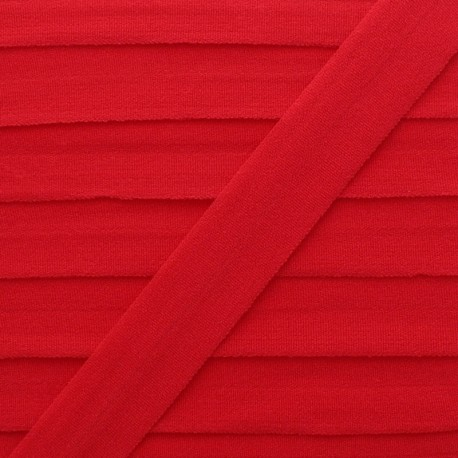 20 mm Lingerie Elastic Bias - Red Ultra Flat x 1m