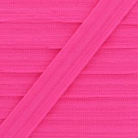 Biais Elastique Lingerie Ultra Plat 20 mm - Fuchsia x 1m