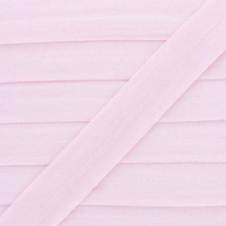 Biais Elastique Lingerie Ultra Plat 20 mm - Rose x 1m