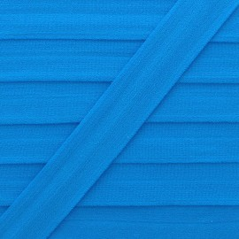 20 mm Lingerie Elastic Bias - Blue Ultra Flat x 1m