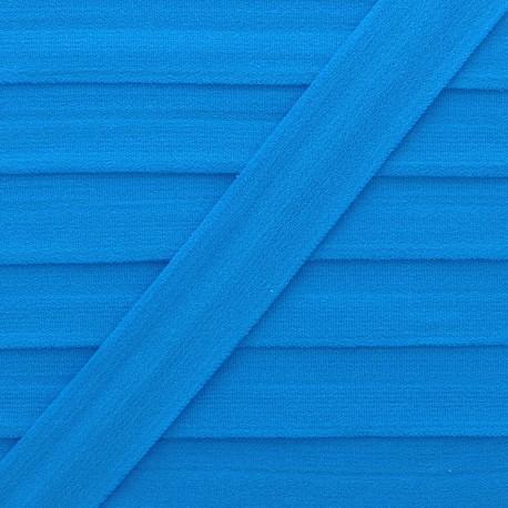 Biais Elastique Lingerie Ultra Plat 20 mm - Bleu x 1m