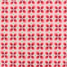 Cretonne cotton Fabric - Pink Wendy x 10cm