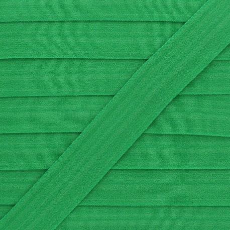20 mm Lingerie Elastic Bias - Green Ultra Flat x 1m