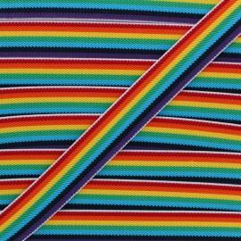 Ruban Élastique Colors 25 mm - Multi x 50cm