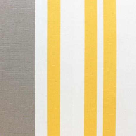 Matte coated Polycotton fabric - Taupe St Jean de luz x 10cm